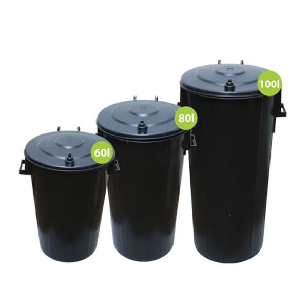 Abfallbehälter Trio